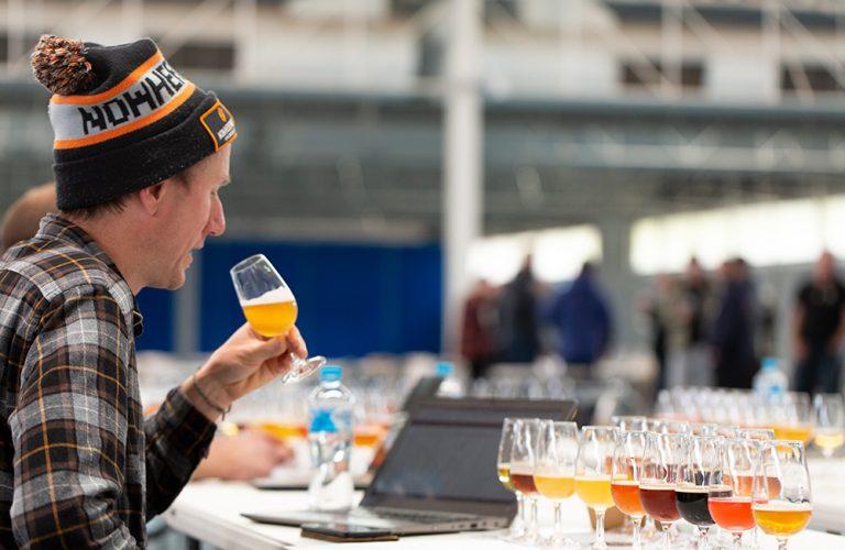 2020 Perth Royal Beer Awards Judging - Andy Scade