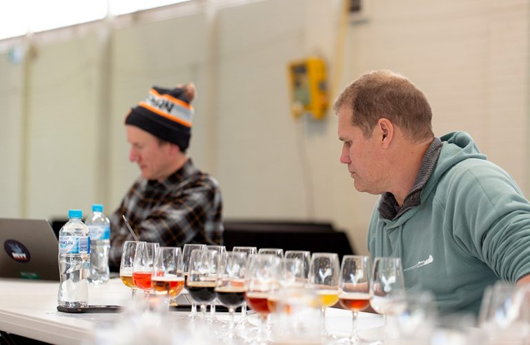 2020 Perth Royal Beer Awards Judging - Andy Scade & Sean Symons